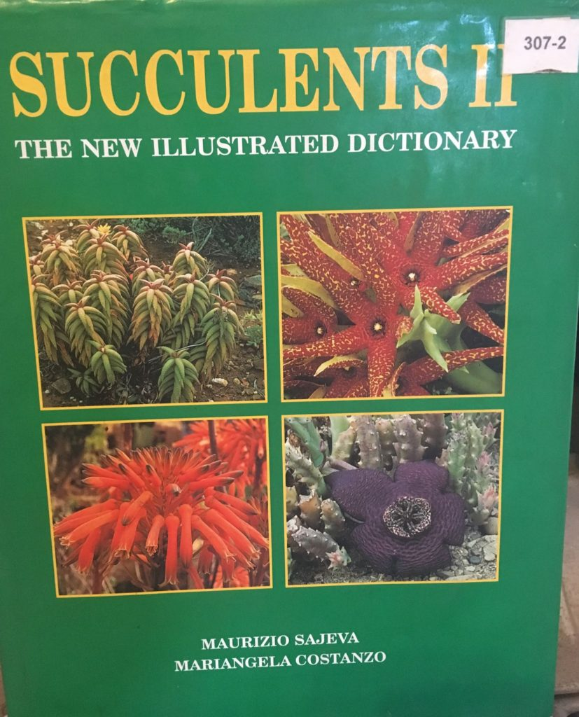 Succulents II The New Illustrated Dictionary