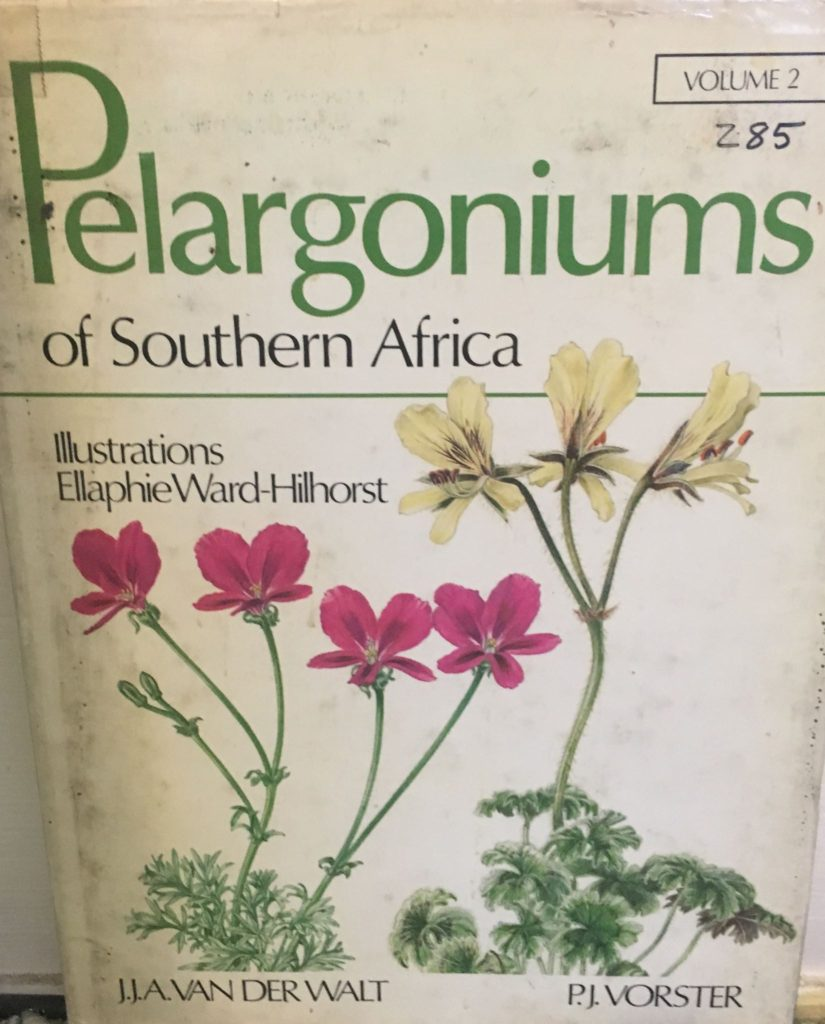 Pelargoniums of Southern Aftrica, Vol. 2